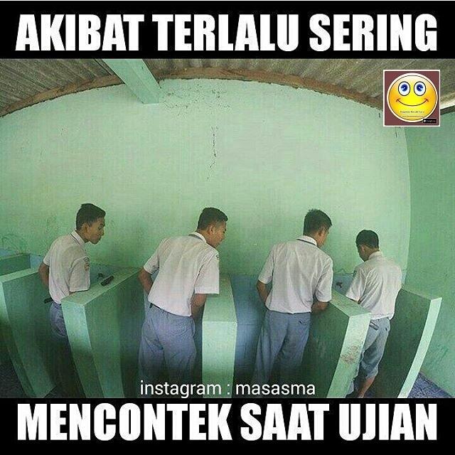 Meme Lucu Hadapi Ujian Nasional 2016 dengan Gembira - Disini Aja ...