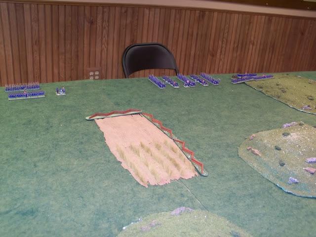 Warlord Games Black Powder American Civil War 10mm Battle Report
