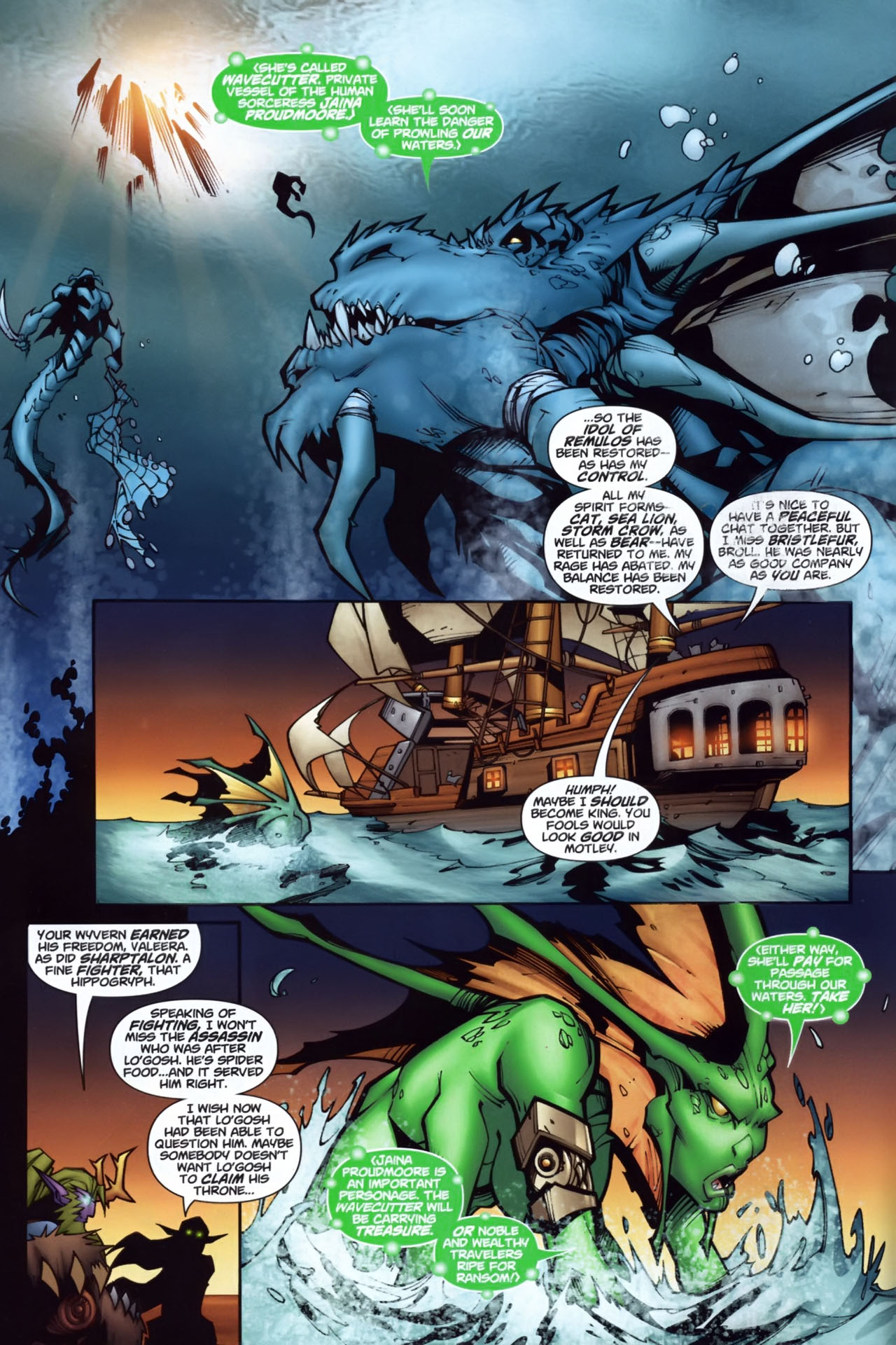 Read online World of Warcraft comic -  Issue #7 - 4