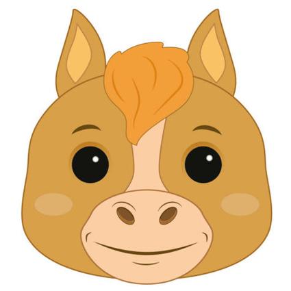 Horse Mask Printable