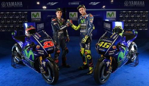 tampilan motor baru yamaha motogp yzr m1 2017