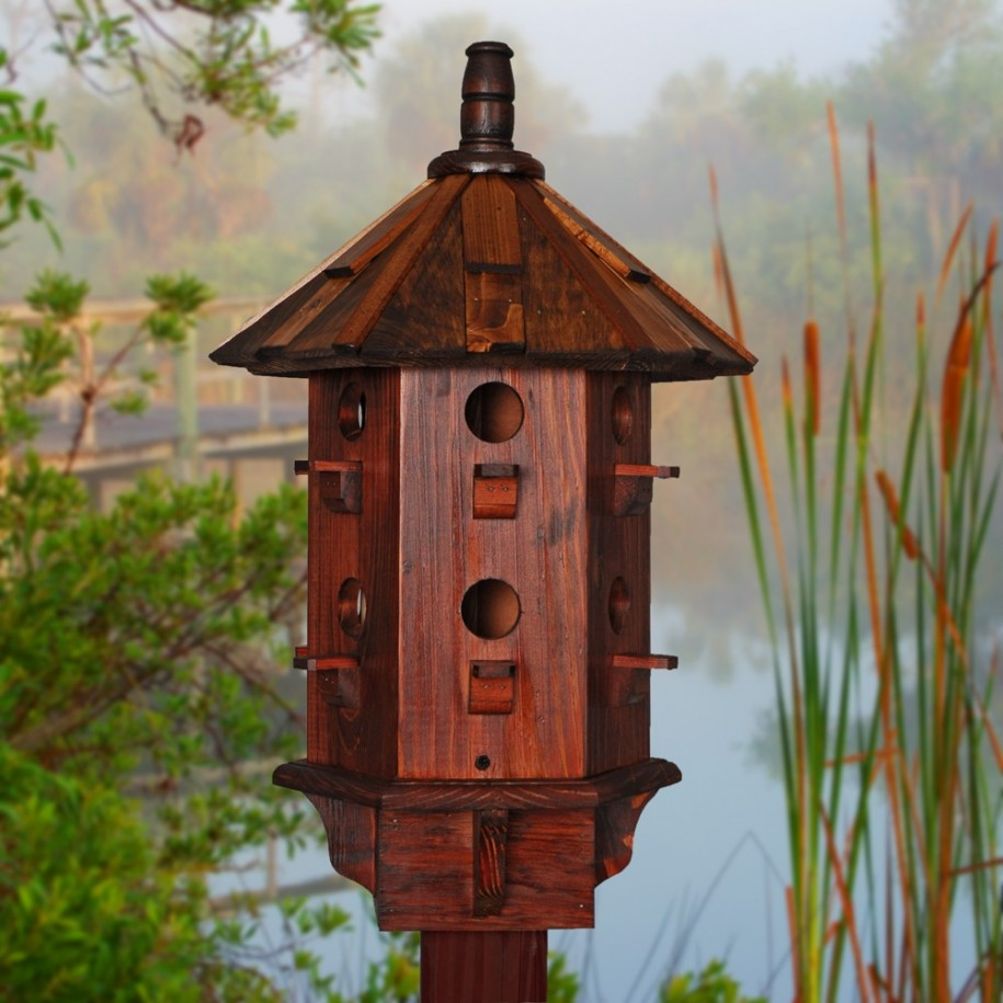 Live with what you love finding out the cool birdhouse for Best birdhouse designs