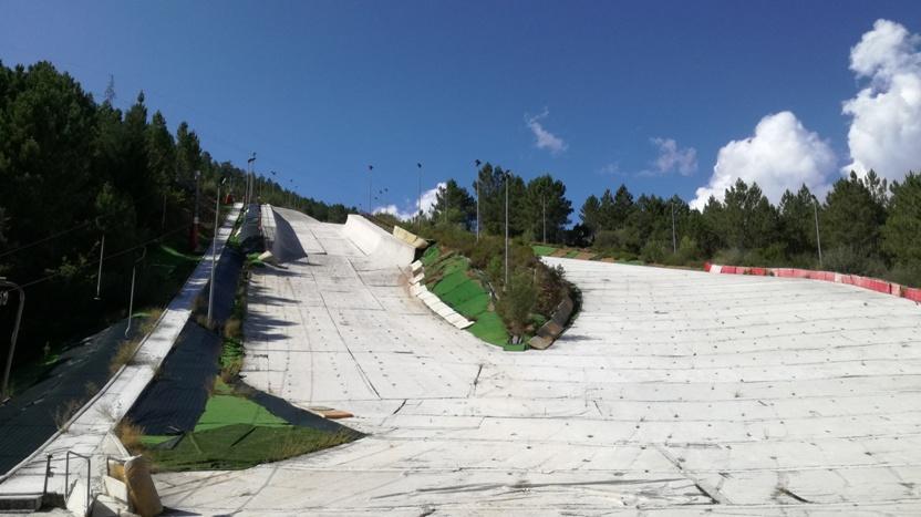 pista de esqui/snowboard