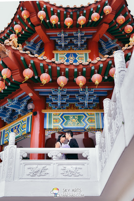 Chinese Wedding ROM at Thean Hou Temple 天后宫 婚姻注册