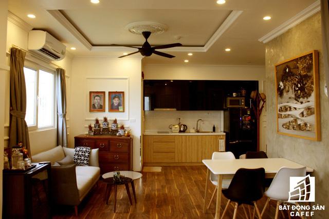 Không gian căn hộ 45m2