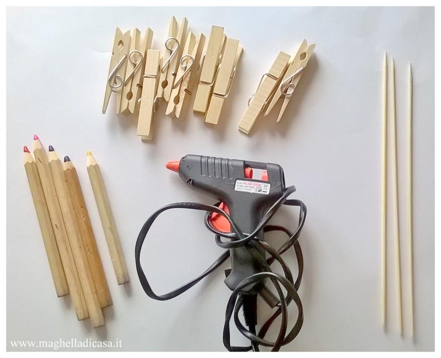 Attivit manuali per bambini come creare un portafoto con - Portafoto con molletta ...
