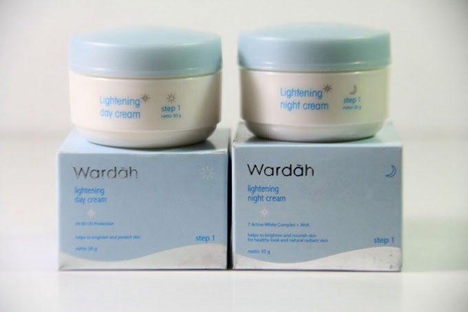 Review: Wardah Lightening Night Cream Step 2