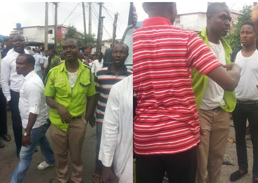 kai officials beaten ikeja lagos
