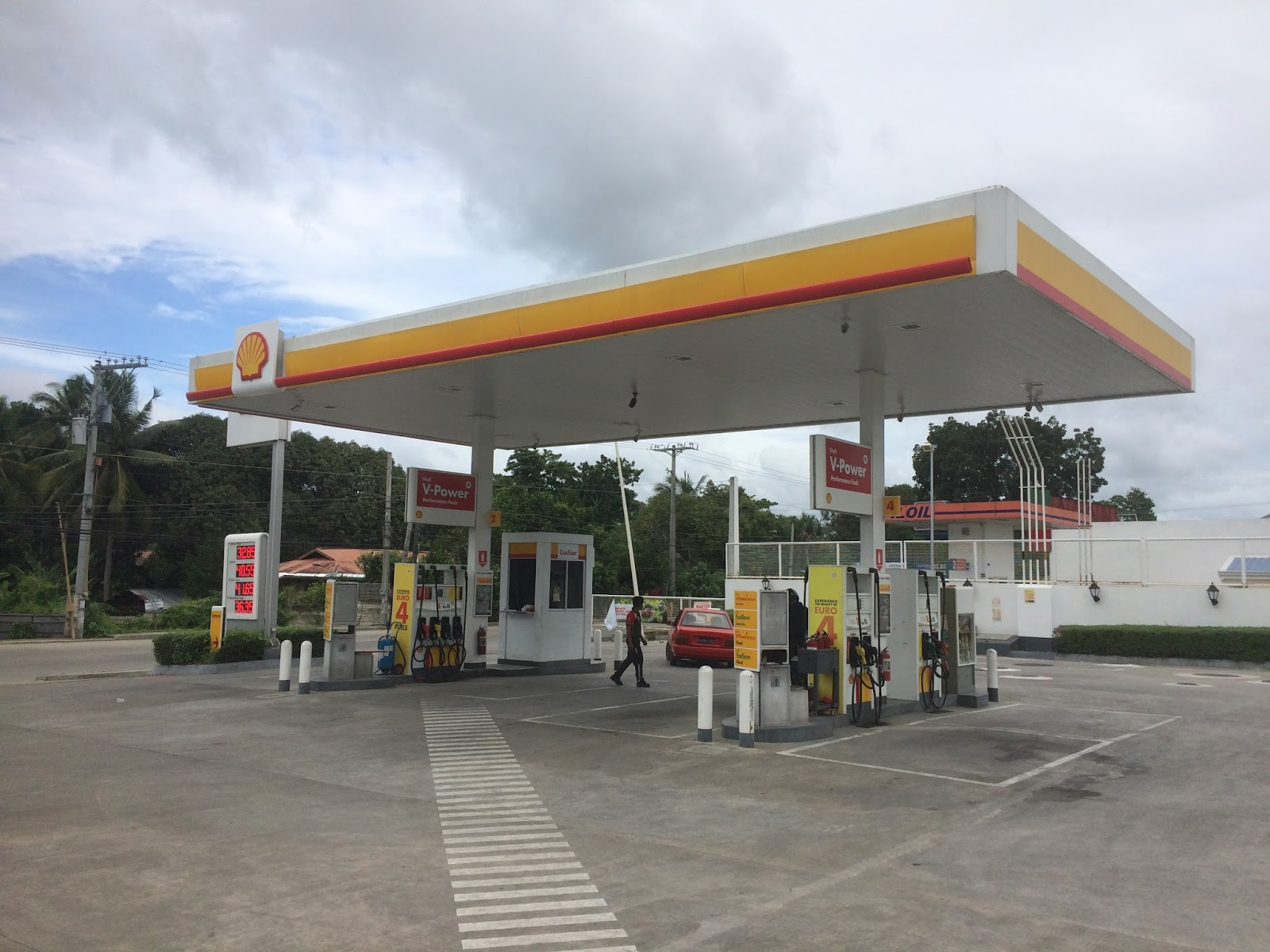 The Closest Shell Gas Station To My Location >> The Touristy Toilet Shell Gas Station Tagbilaran City Bohol