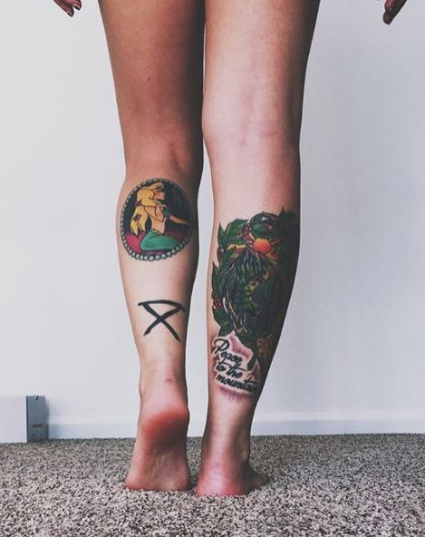 Men S Calf Tattoo Designs