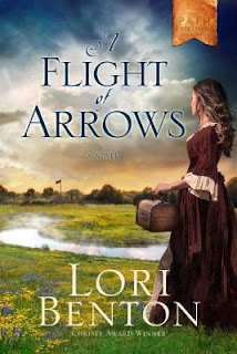 http://www.amazon.com/Flight-Arrows-Novel-Pathfinders/dp/1601427344/ref=sr_1_1?ie=UTF8&qid=1463445671&sr=8-1&keywords=a+flight+of+arrows