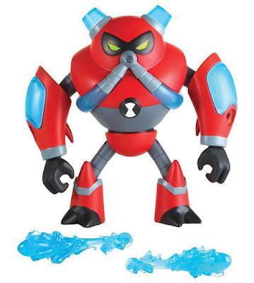 BEN 10 - Overflow : Figura de acción | Muñeco | Serie Televisión Boing - Videojuegos 2017 | COMPRAR JUGUETE - TOYS - JOGUINES  contenido detalle toys