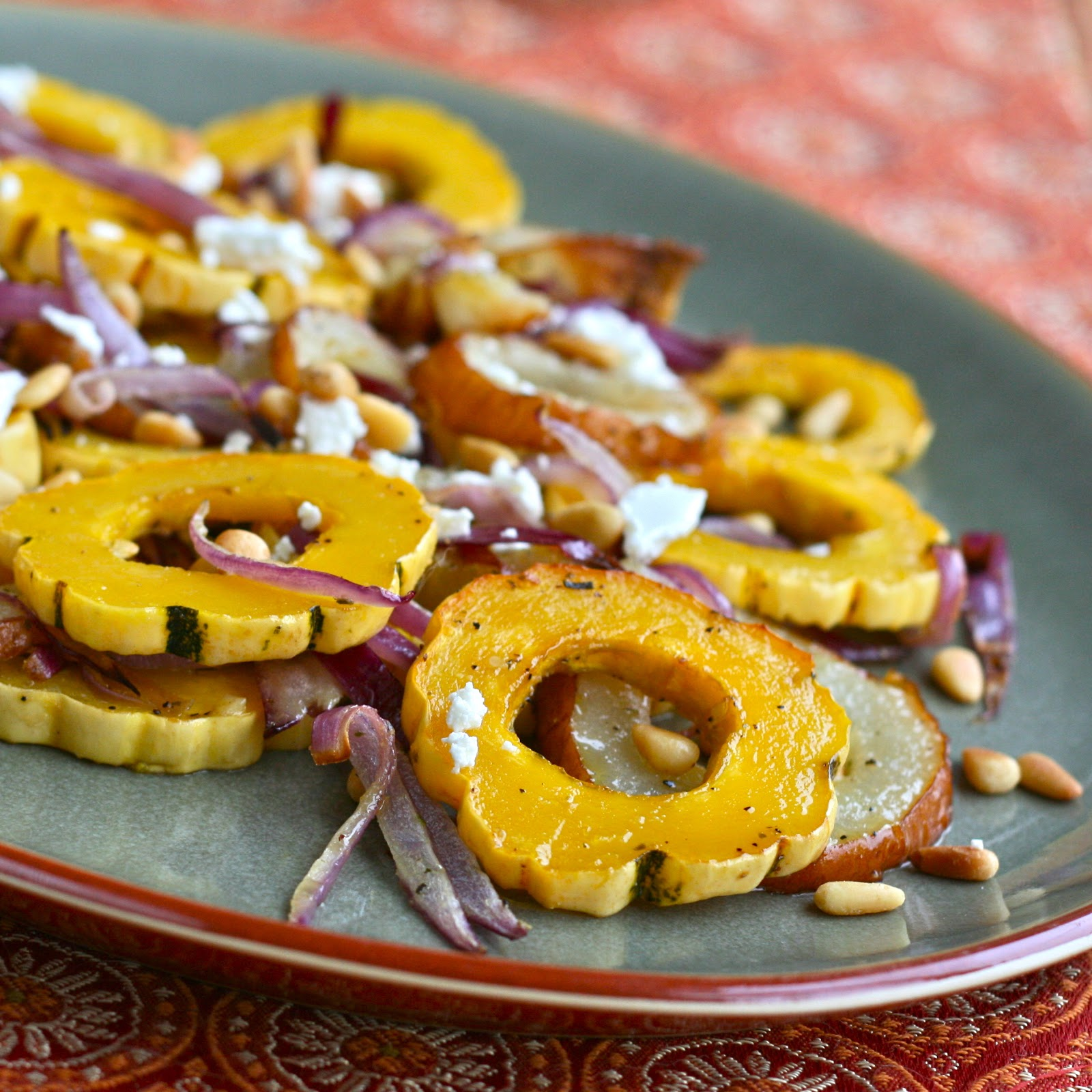 D Is For: Delicata Squash {and 12 Other Thanksgiving Food