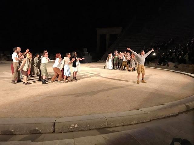 Εορτασμός στο Αρχαίο Θέατρο Ασκληπιείου Επιδαύρου των 180 χρόνων από την ίδρυση της Ιατρικής Σχολής Αθηνών