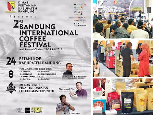 Bandung International Coffe Festival 2018