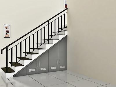lemari tangga, lemari tangga minimalis, lemari tangga murah, desain lemari bawah tangga modern, lemari bawah tangga minimalis