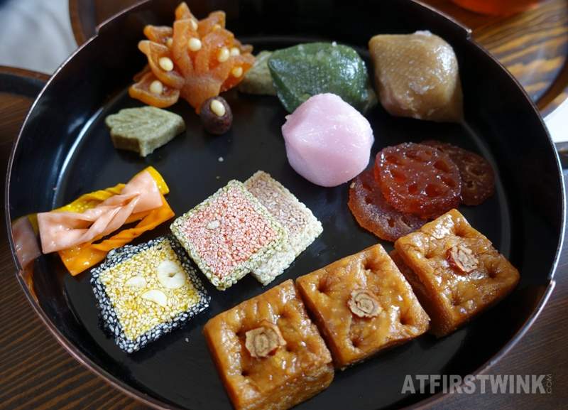 Saenggwabang in Gyeongbokgung palace royal confectionery platter