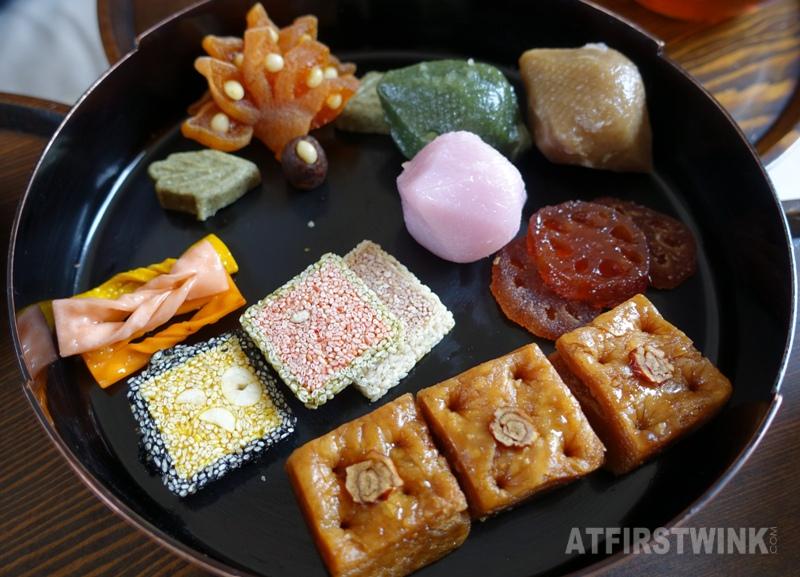 Saenggwabang in Gyeongbokgung palace royal confectionery platter
