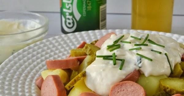 Kartofelsalat o ensalada alemana de patatas la rosa dulce - Ensalada alemana de patatas ...