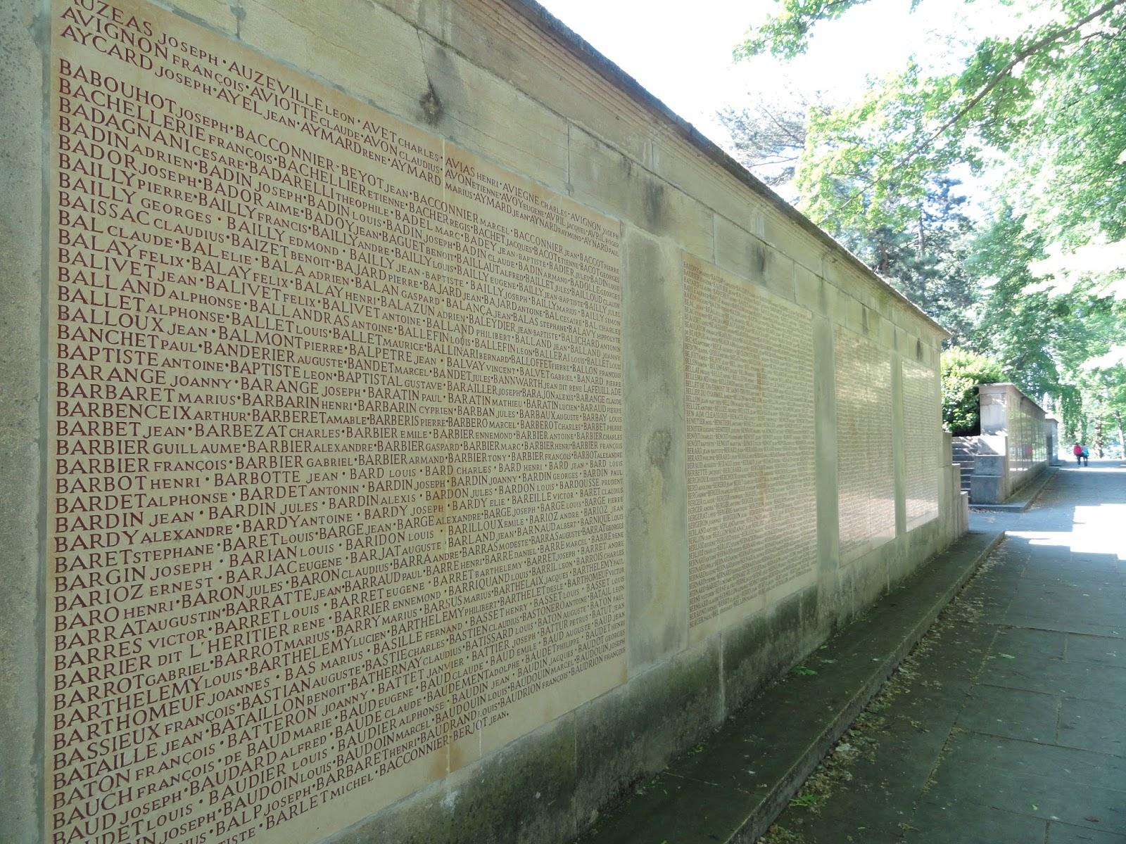 Monument aux morts de l'île aux Cygnes, Parc de la Tête d'Or