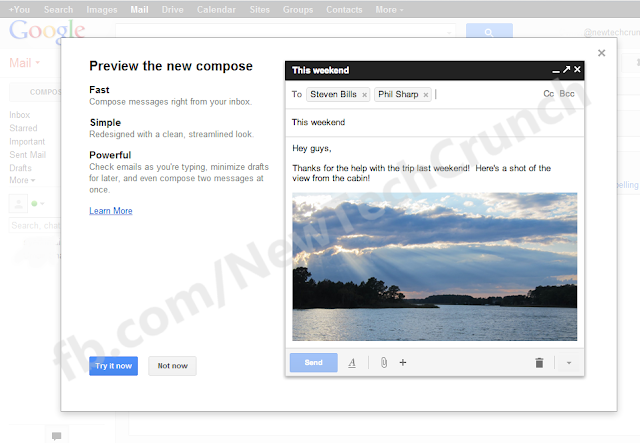 google drive email composer