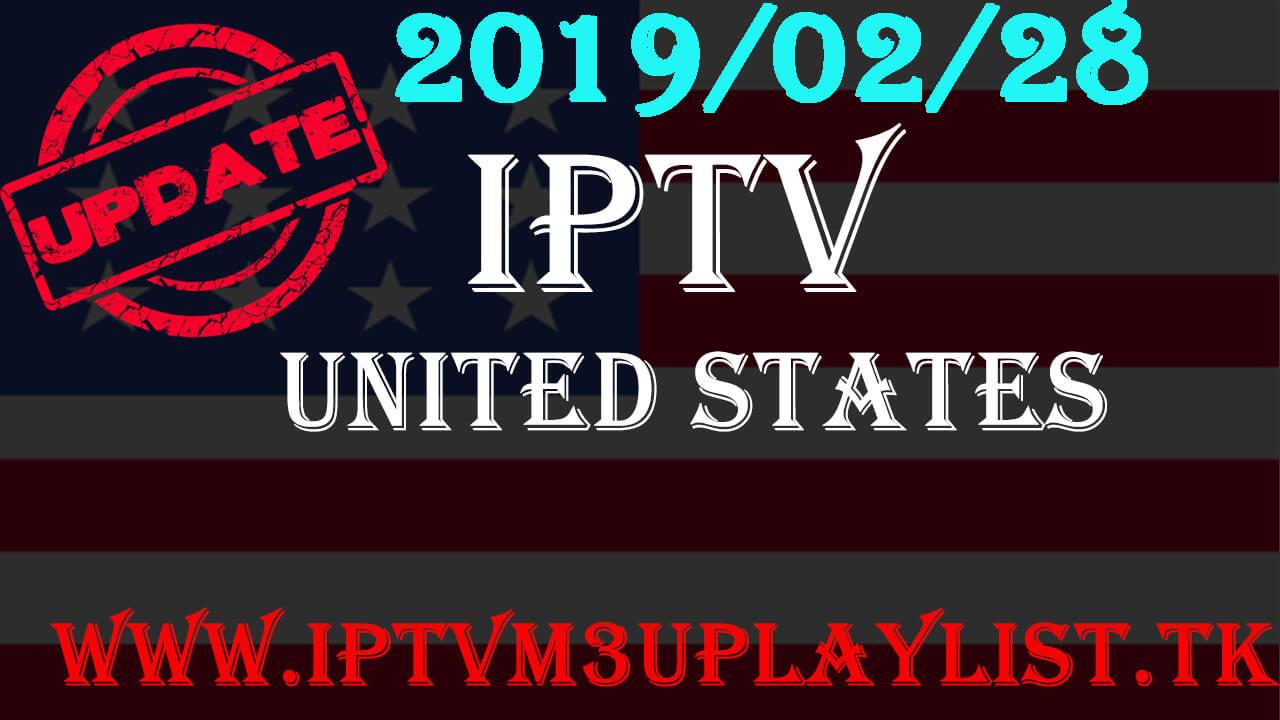List Iptv America M3u Free Channels 28-02-2019 - iptv4world
