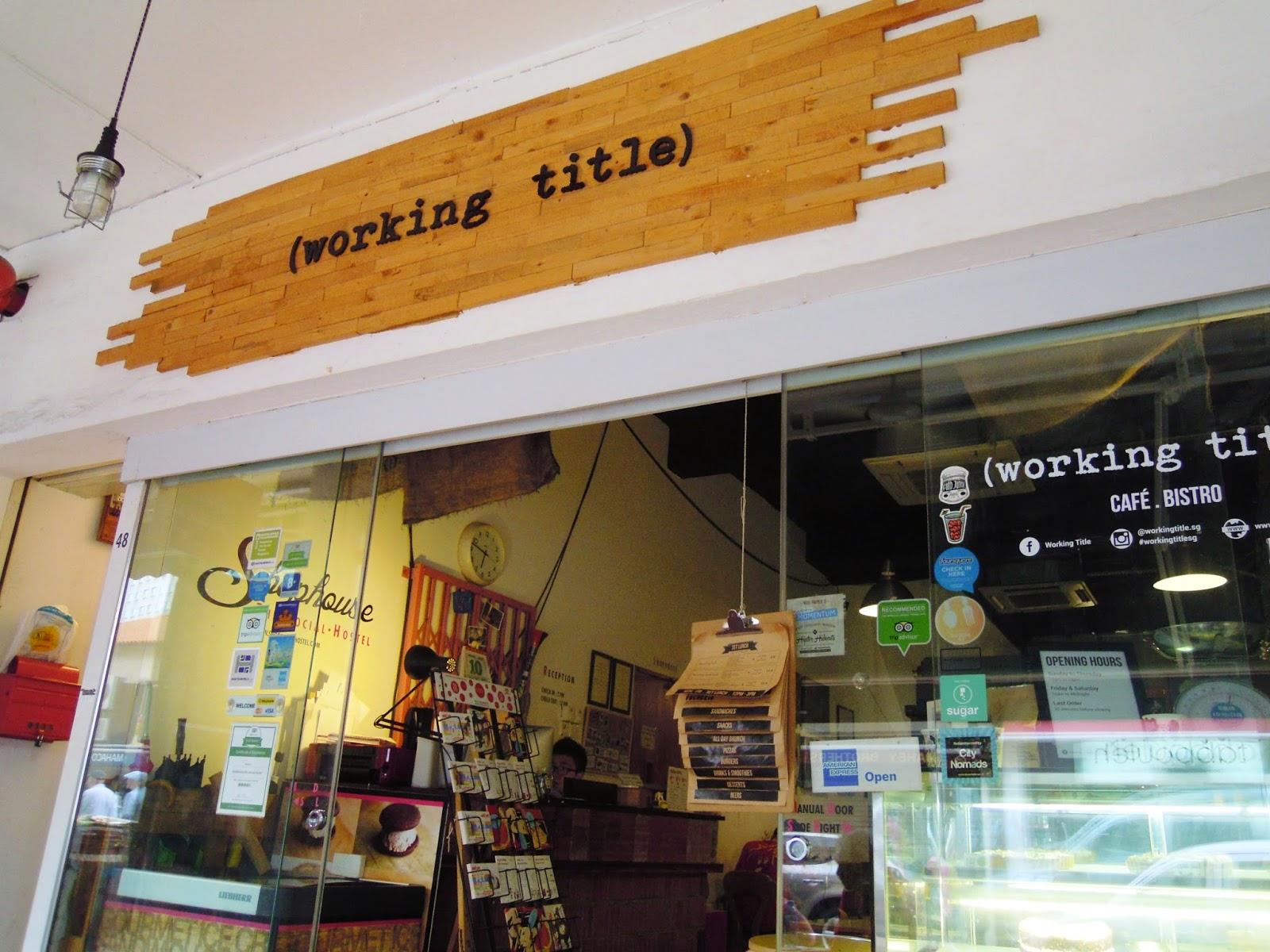 LOVE LIFE, CHERISH MOMENTS: #foodiehitstheroad: Working