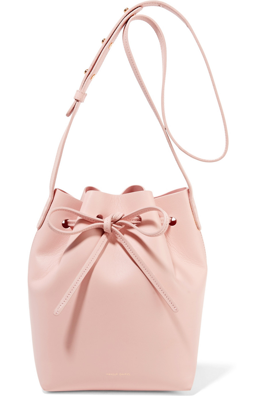 Mansur Gavriel mini bucket blush