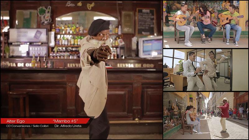 Alter Ego - ¨Mambo # 5¨ - Videoclip - Dirección: Alfredo Ureta. Portal Del Vídeo Clip Cubano - 01