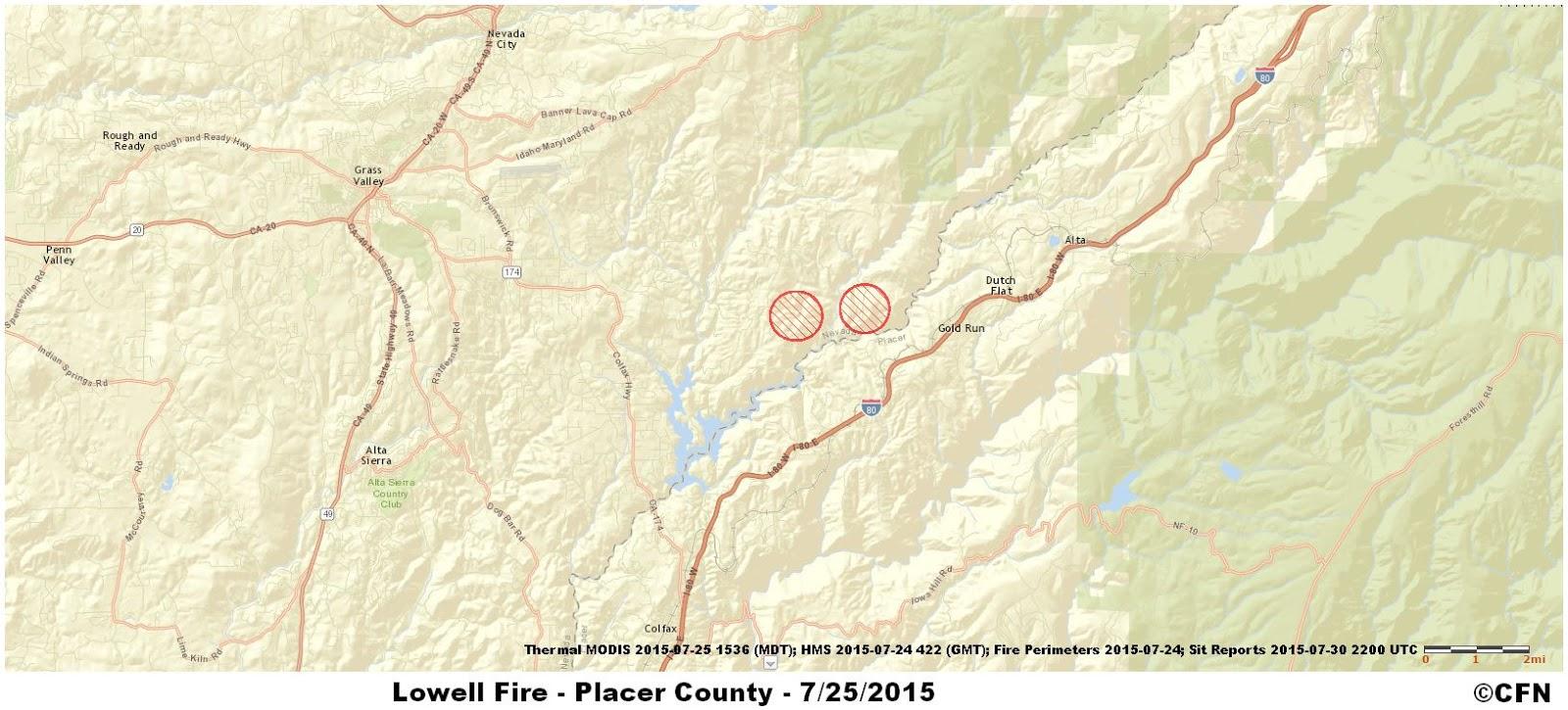 CFN - CALIFORNIA FIRE NEWS - CAL FIRE NEWS : CA-NEU Lowell