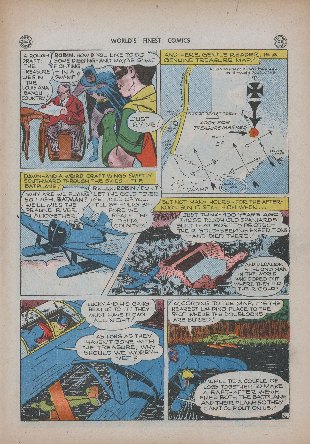 Read online World's Finest Comics comic -  Issue #20 - 67