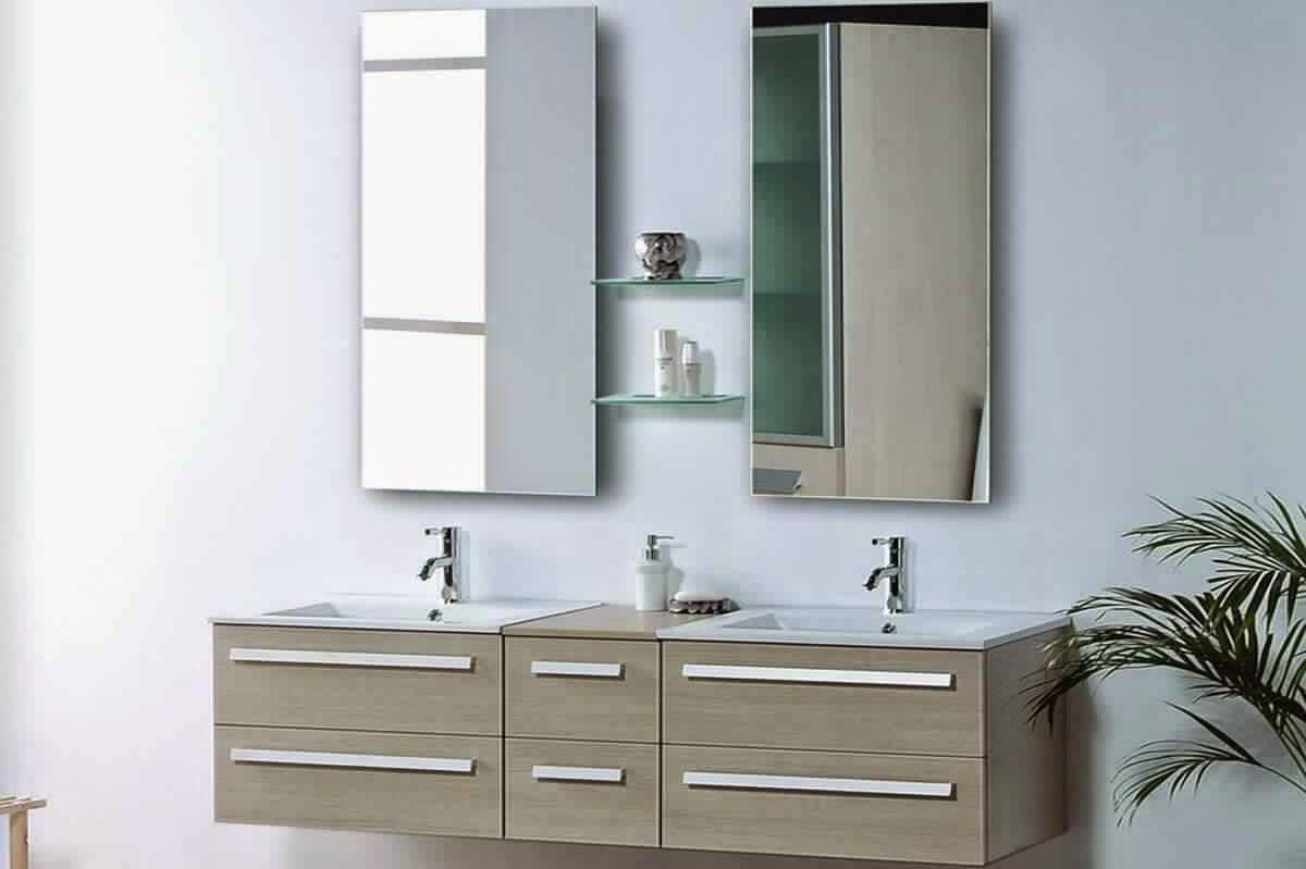 meuble salle de bain 2 vasques bleu meuble d coration maison. Black Bedroom Furniture Sets. Home Design Ideas