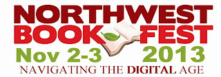 Northwest Bookfest 2013 logo