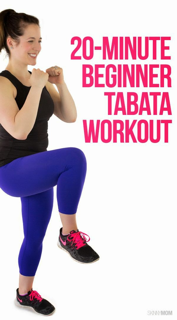 20-minute Beginners Tabata Workout