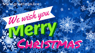 Merry Christmas photo messages from greetings live