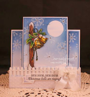 ODBD Products - Sparkling Snowflakes, Jingle Bells, ODBD Custom Fence Die