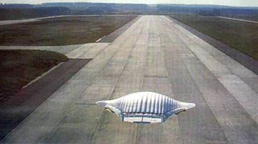 Naves aeroespaciales anti-gravedad de Estados Unidos fabricadas utilizando tecnología alienígena