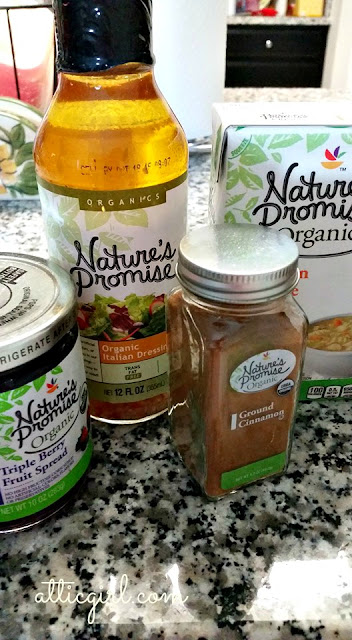 Nature's Promise organic foods at GIANT