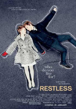 Restless 2011 BRRip 600MB Hindi Dual Audio 720p ESub Watch Online Full Movie Download bolly4u