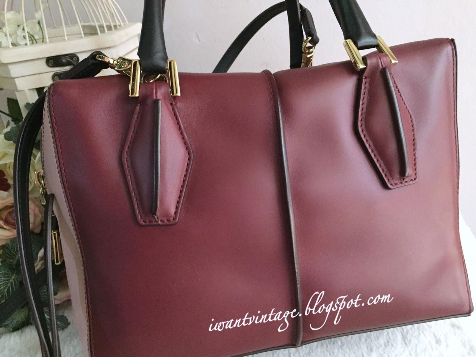 8f630141664 I Want Vintage | Vintage Designer Handbags: TOD'S D-Cube Small ...