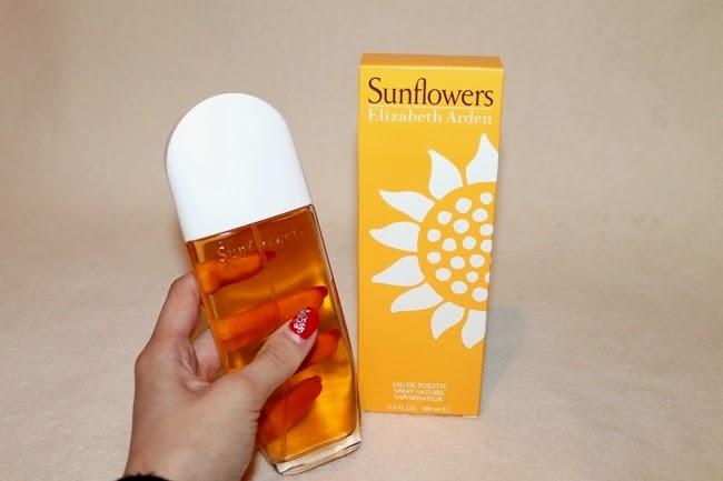 Sunflowers Elizabeth Arden