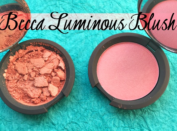 Becca Luminous Blush Review