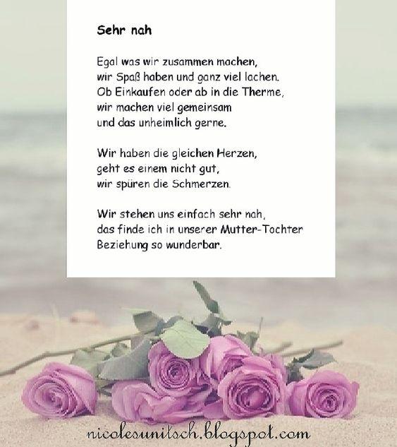 Gedichte Tochterliebe Gedichte Zum Geburtstag Der