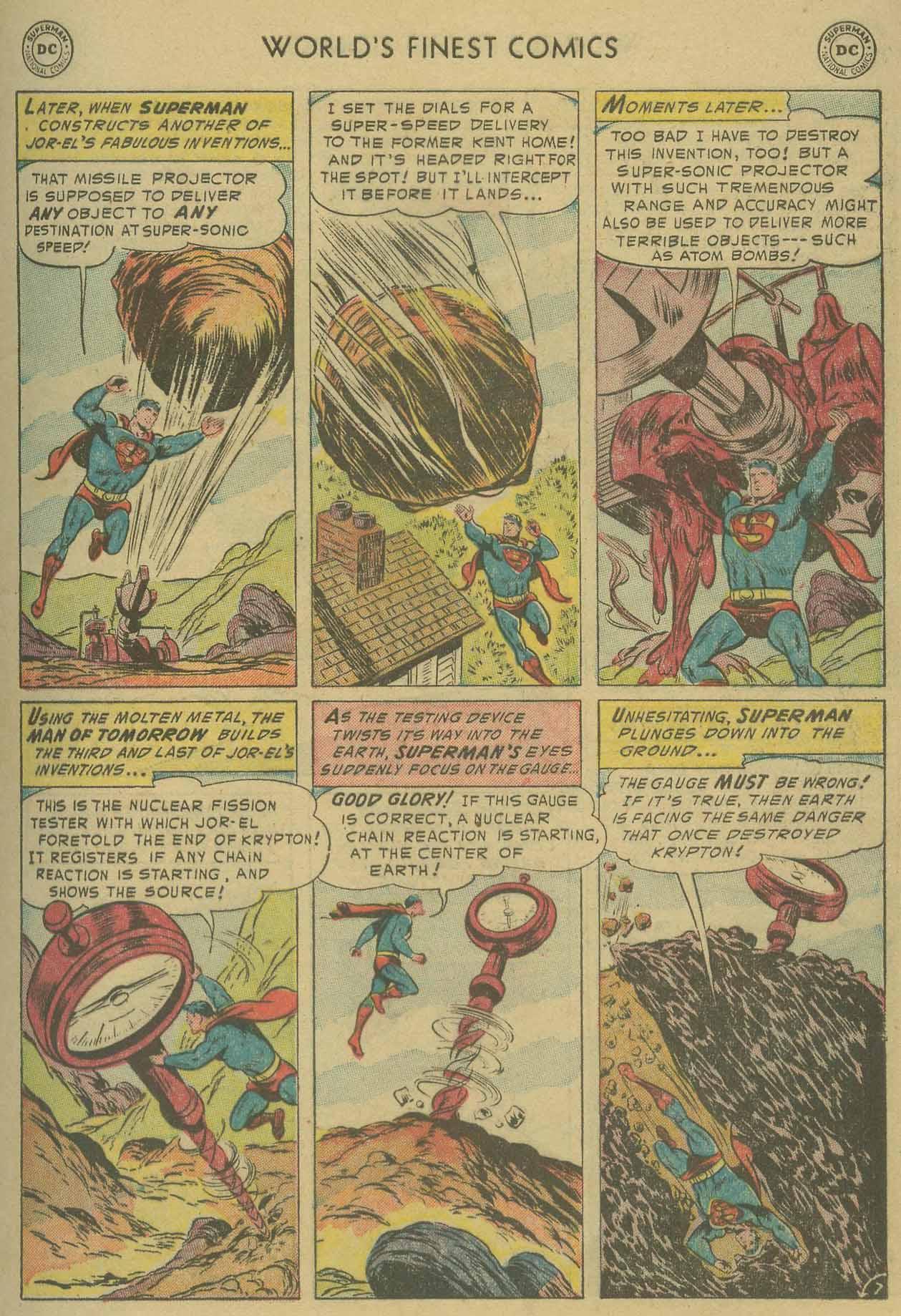 Read online World's Finest Comics comic -  Issue #69 - 9