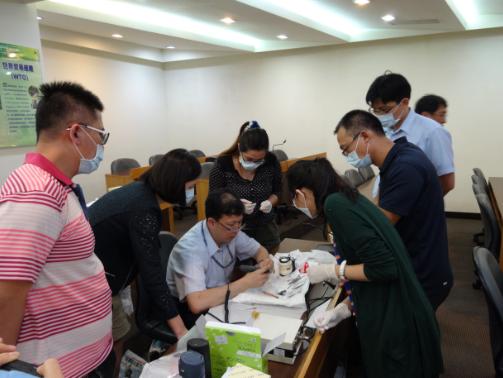 中華植體美學醫學會: 《101招》20140608課程花絮