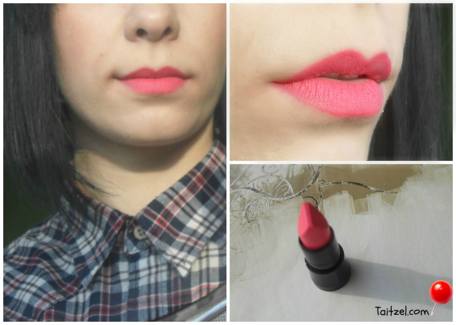 Swatch Avon True Color Perfectly Matte Part 2 Taitzel Beauty