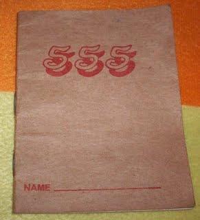 buku 555, buku hutang, buku lima lima lima,