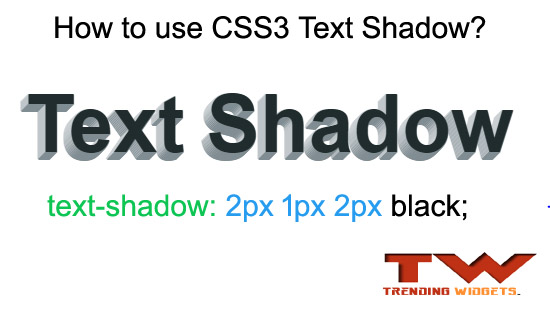 How to use CSS3 Text Shadow inside Blogger posts & headings