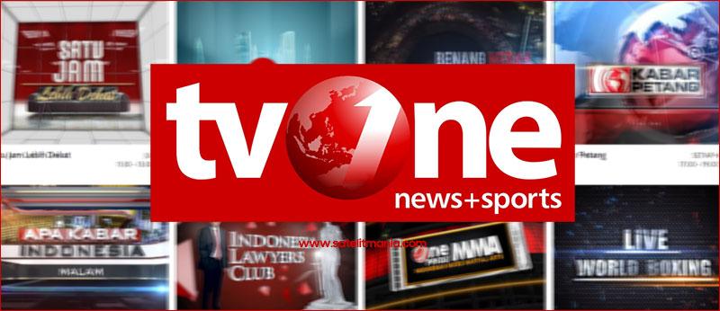 Frekuensi Terbaru Channel TV One Indonesia di Palapa D Tahun 2017