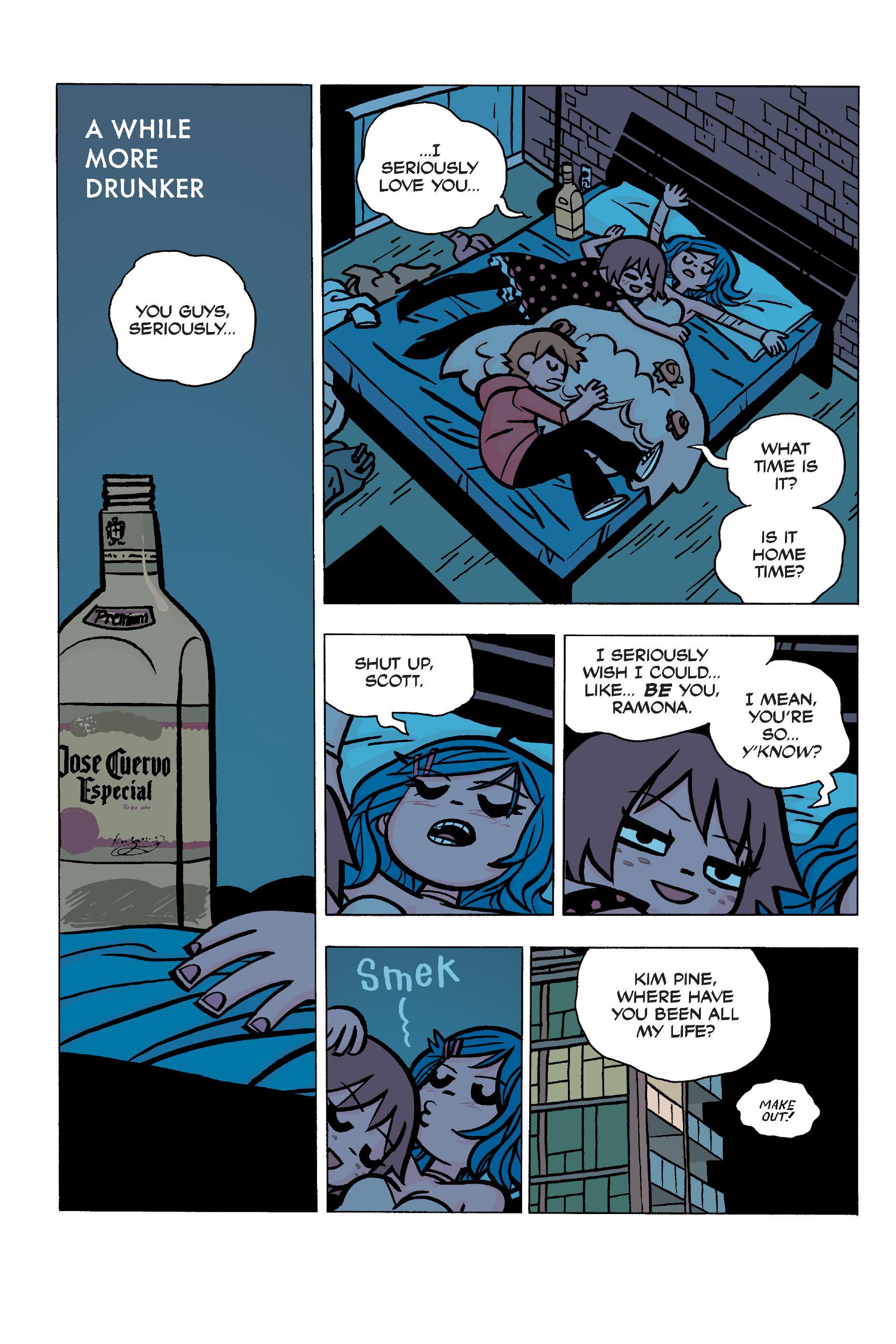 Read online Scott Pilgrim comic -  Issue #5 - 96